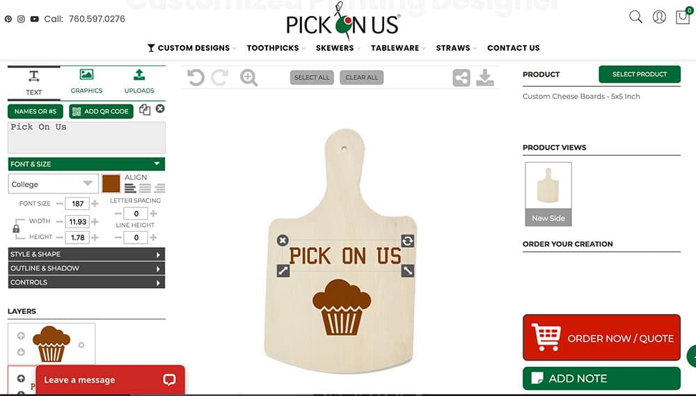 Cheese Boards Personalization App